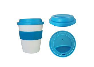 China Multi Color Silicone Drinking Cups / Disposable Silicone Tea Cups With Lid supplier