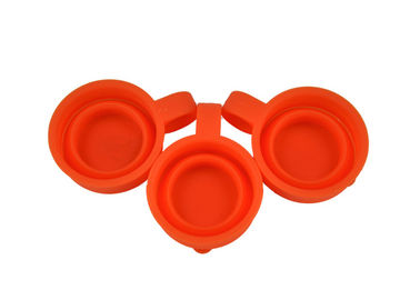 China Heat Resistant Silicone Folding Cup , Portable Food Grade Silicone Wine Cups supplier
