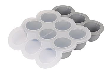China Multipurpose Baby Food Ice Cube Trays Food Storage Container With Lids supplier