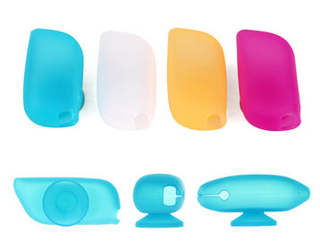 China Popular Silicone Toothbrush Cover , Waterproof Toothbrush Travel Cap FDA Approved supplier
