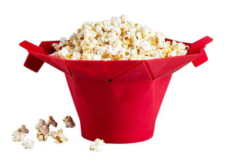 China Movie Theater Silicone Microwave Popcorn Popper With Built In Measurements supplier