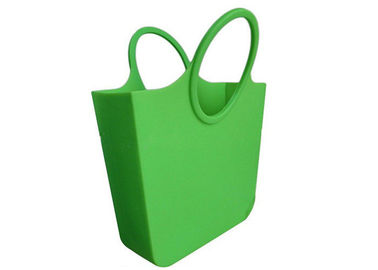 China Food Grade Silicone Beach Bag / Candy Color Silicone Shoulder Bag For Party supplier