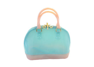 China High Capacity Silicone Candy Jelly Bag / Purse Easy Cleaning With Rope Belts supplier