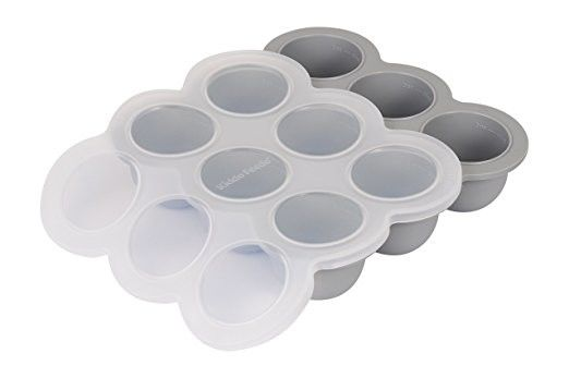 Multipurpose Baby Food Ice Cube Trays Food Storage Container With Lids