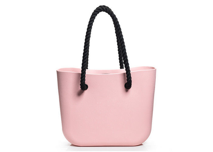 Las Stylish Silicone Tote Bag Waterproof Rubber Beach For Travelling