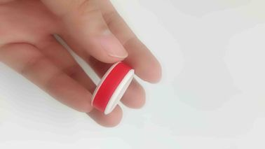 China 2 Layered Finger Slap Mens Silicone Rings , Double Finger Medical Grade Silicone Rings factory