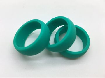 China Firefighter Personalized Custom Silicone Wedding Rings , Silicon Promise Rings factory