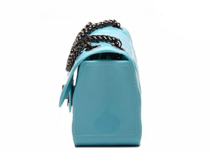 Durable Waterproof Silicone Beach Jelly Bag , Casual Clutch Bags For Female