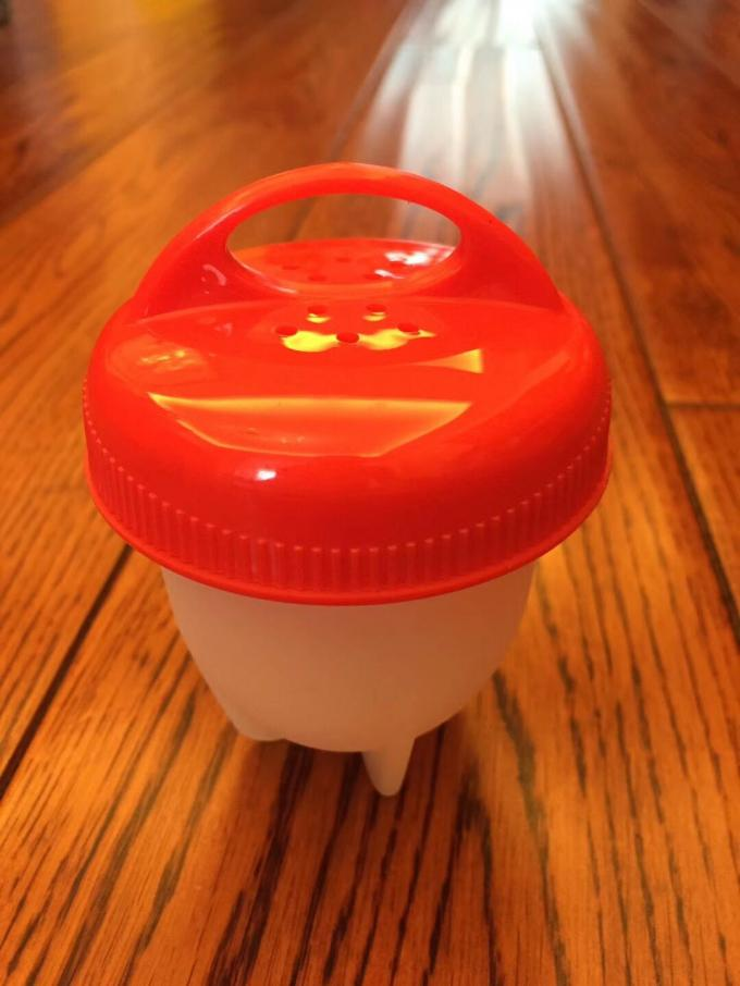 Egg cooker  Without Shell Never Peel a Hard-boiled Egg Again and a separator