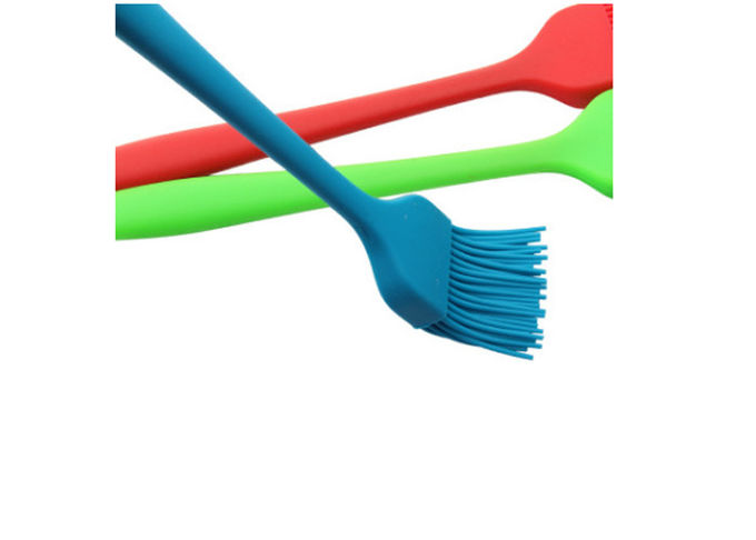 Size Customized Silicone Pastry Brush , Food Grade Cleaning Brushes For Barbecue