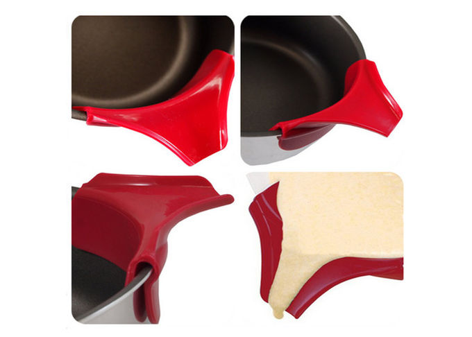High Elastic Silicone Kitchen Accessories Leakage Prevention Silicone Slip On Pour Spout