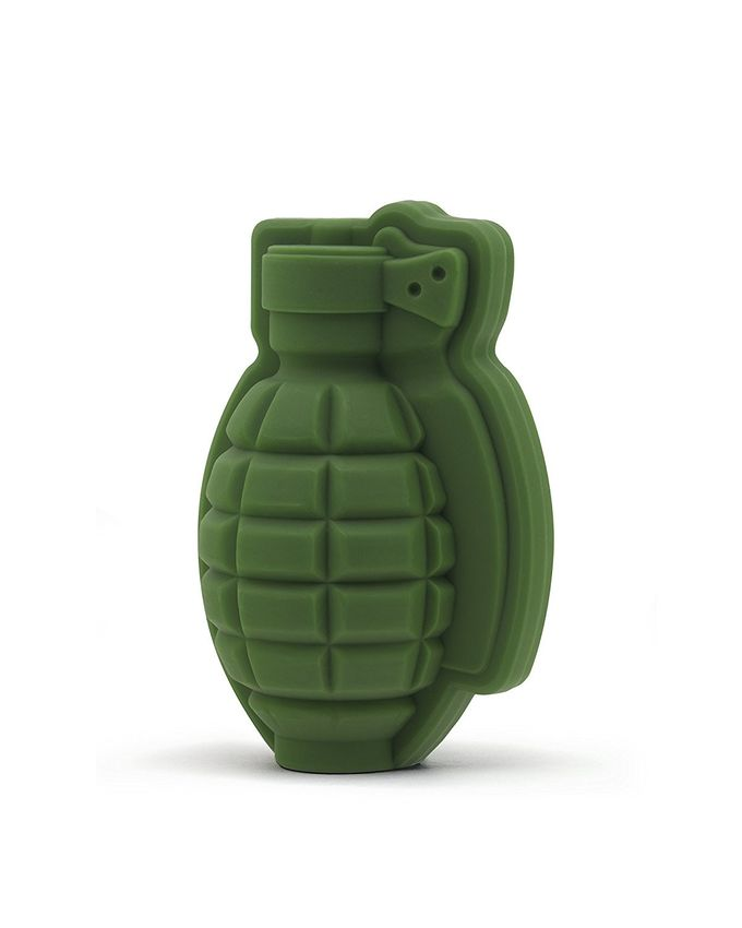 100% Food Grade Silicone Ice Cube Trays / 3D Grenade Ice Cube Mold 60g